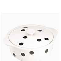 deco dot covered casserole