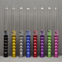 1.9m 370g Aluminum Glass Stem Shisha Hookah Hose Silicone Hose ChiCha Pipe Tube Shisha Hookah Head Bowl Accessories