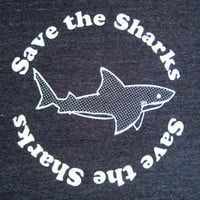 Save the Sharks T shirt