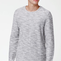 PacSun Tule Crew Neck Extended Length Scallop Sweater at PacSun.com
