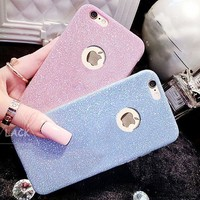 Hot Sale 2017!Flash Glitter Candy Case For iPhone 7 iPhone 7 plus - Stylish On Sale Couple Phone Case Crystal Bling Soft Back Cover Capa I