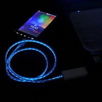 Luminous USB Cable Cord USB Power Charger For Iphone 4/4s