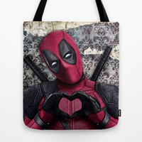 Dead pool - Sweet superhero Tote Bag by S.Levis | Society6