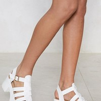 There's No One Gladiator Sandal