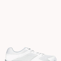 FOREVER 21 Perforated Trainers White