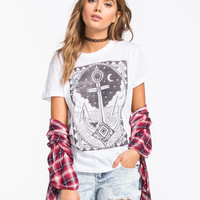 BILLABONG Vintage Anchor Womens Tee | Graphic Tees & Tanks