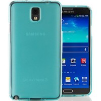 Hyperion Samsung Galaxy Note 3 Matte Flexible TPU Case & Screen Protector for Samsung Galaxy Note 3 (Compatible with Domestic and International Note 3 SM-N900 Models) **Hyperion Retail Packaging** [2 Year Warranty] (Aqua/Teal Green)