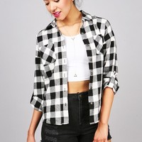Constant Plaid Button Down   Cotton Flannels at Pink Ice