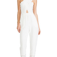 Maurie & Eve Glow Jumpsuit in White