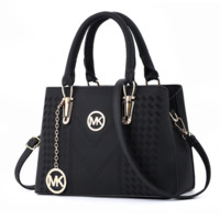 Michael Kors MK Fashion New Leather Shopping Handbag Shoulder Bag Women Black
