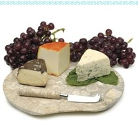RSVP International 2-pc. Fossil Cheese Board:Amazon:Kitchen & Dining