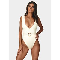 Kim Belted One Piece