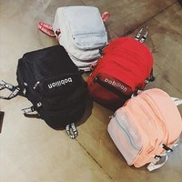 Backpack Alphabet Fashion Bags Korean Strap [11883707923]