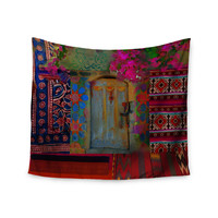 "S. Seema Z ""Ethnic Escape"" Ped Pink Wall Tapestry"