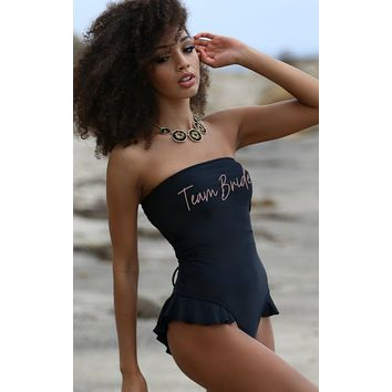 Team Bride Swimsuit - Hermosa One Piece