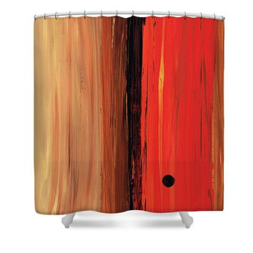 Modern Art - The Power Of One Panel 1 - Sharon Cummings Shower Curtain