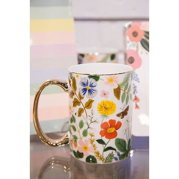 Strawberry Fields Porcelain Mug | Rifle Paper Co.