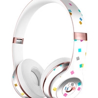 Multicolor Scattered Micro Blocks Full-Body Skin Kit for the Beats by Dre Solo 3 Wireless Headphones
