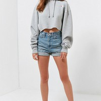 Champion & UO Cropped Hoodie Sweatshirt   Urban Outfitters