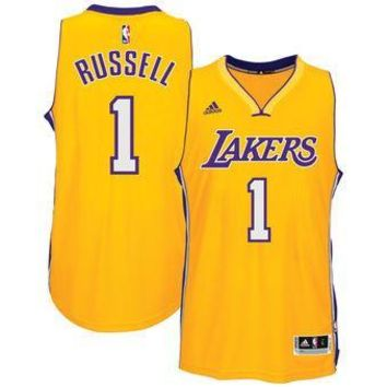 Los Angeles Lakers D'angelo Russell #1 jerseys