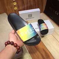 Givenchy  Popular Summer Women's Flats Men Slipper Sandals Shoes
