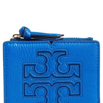Tory Burch 'Mini Harper' Leather Wallet | Nordstrom