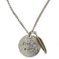 LOVEsick Free As A Bird Necklace