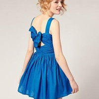 ASOS | ASOS Summer Dress with Bow Back Detail at ASOS