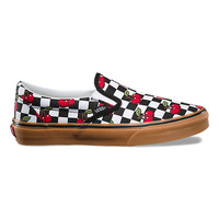 Cherry Checker Slip-On | Shop At Vans