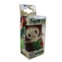 Officially Licensed DC Comics String Doll Keychain - Poison Ivy