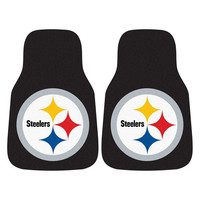 Pittsburgh Steelers NFL Car Floor Mats (2 Front)