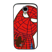 Tilted Animated Spiderman TPU Soft Shell Jelly Silicone Case for Samsung Galaxy S4