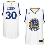 Stephen Curry Golden State Warriors adidas 2014-15 New Swingman Home Jersey – White