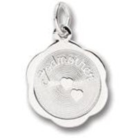 Godmother Charm In 14K White Gold