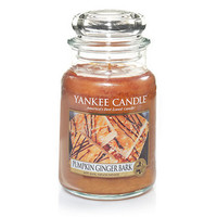 Pumpkin Ginger Bark : Large Jar Candles : Yankee Candle