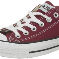 Converse All Star OX Maroon Womens Trainers
