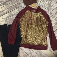 Sparkle and shine in Burgundy