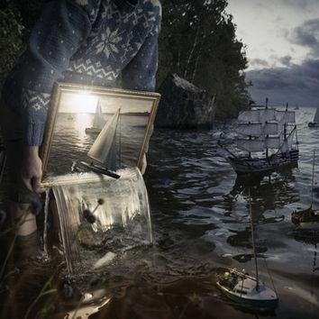 """Set Them Free"" - Art Print by Erik Johansson"