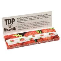 Top Wildfire - Sunrise Strawberry Regular Size Rolling Papers - Single Pack - Grasscity.com