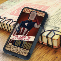 Captain america superheroes super hero marvel   For Samsung Galaxy S6 Cases   Free Shipping   AH0384