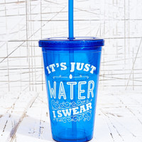 It's Water I Swear To Go Flask - Urban Outfitters