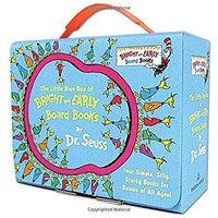Dr. Seuss The Little Blue Box of Bright and Early Board Books