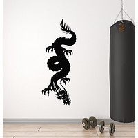 Vinyl Wall Decal Dragon Claws Horn Mythology Animal Fantasy Monster Stickers Mural (g246)