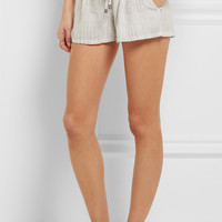 Splendid - Marina striped woven shorts