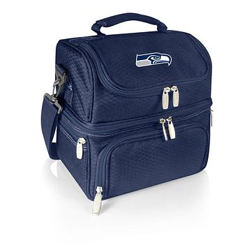 Seattle Seahawks - Pranzo Lunch Cooler Bag, (Navy Blue)