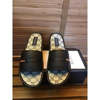GUCCI Fashion casual men's shoes