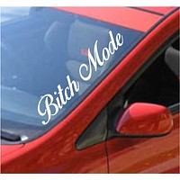 Bitch Mode Large Car Truck Window Windshield Lettering Decal Sticker