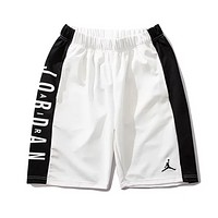 Jordan New fashion letter embroidery people shorts White