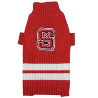 North Carolina State Wolfpack Pet Sweater SM