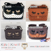 New Sleepy Cat Messenger 6 colors Bag KK85